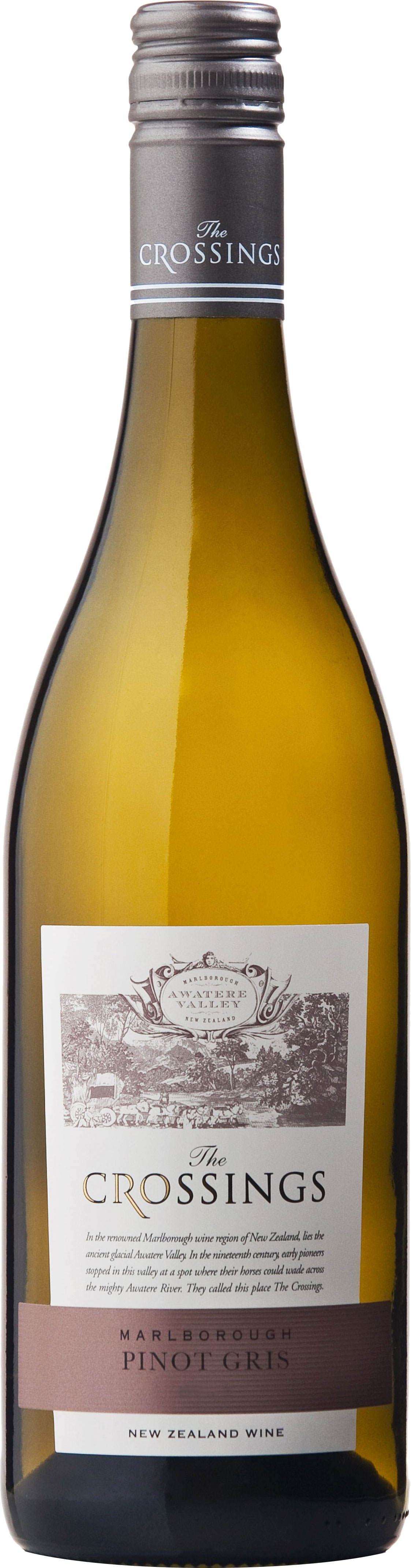 The Crossings - Awatere Valley Pinot Gris 2017 6x 75cl Bottles