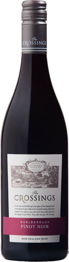The Crossings - Awatere Valley Pinot Noir 2018 6x 75cl Bottles