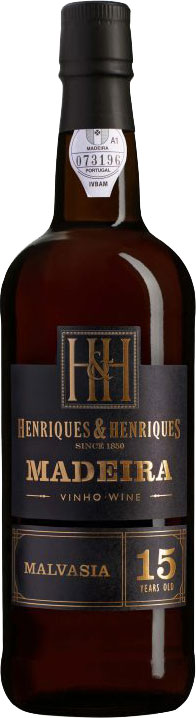 Henriques and Henriques - 15 Year Old Malvasia 6x 50cl Bottles