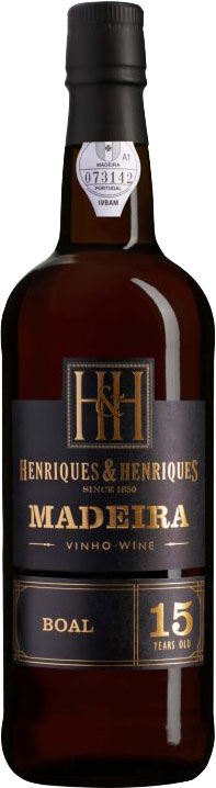 Henriques and Henriques - 15 Year Old Bual 6x 50cl Bottles