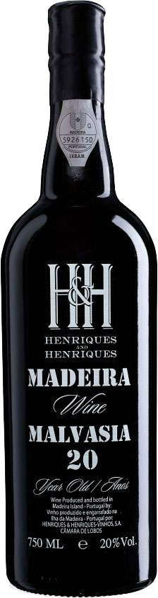 Henriques and Henriques - 20 Year Old Malvasia 6x 75cl Bottles