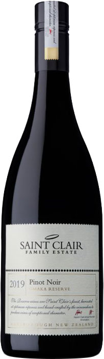 Saint Clair - Omaka Reserve Pinot Noir 2016 75cl Bottle