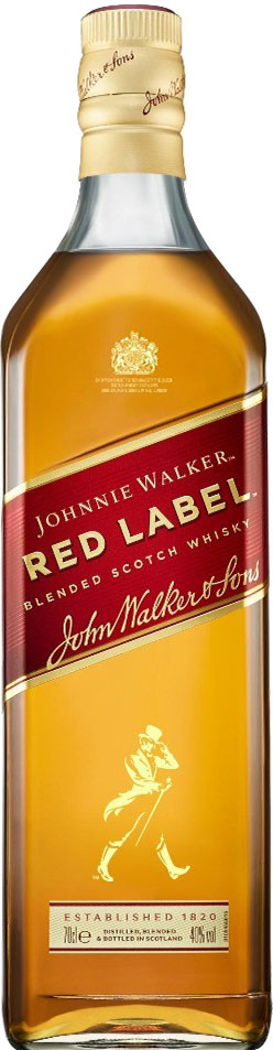 JOHNNIE WALKER  Red Label 70cl Bottle