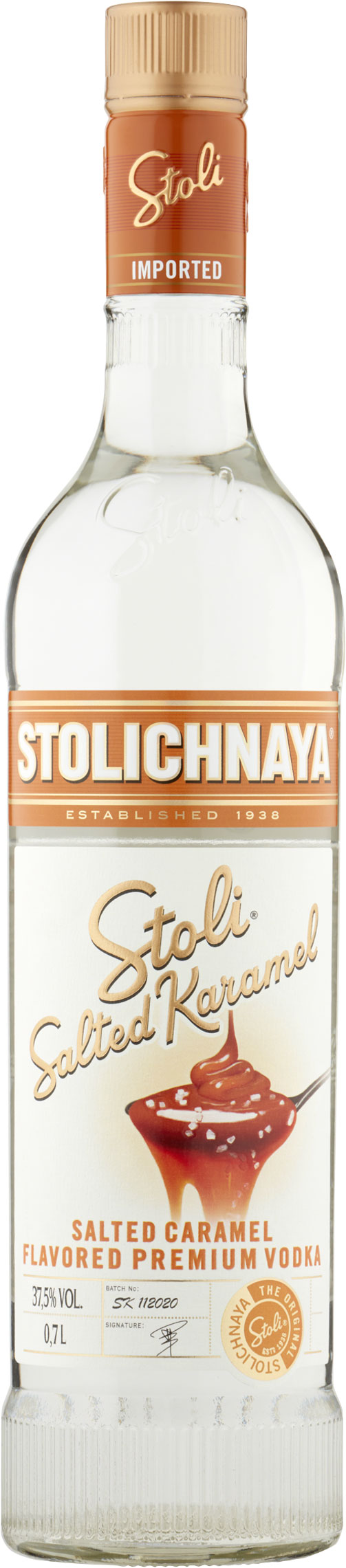 Stoli  Salted Karamel 70cl Bottle