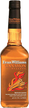 Evan Williams - Cinnamon Bourbon Liqueur 70cl Bottle