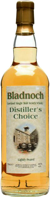 Bladnoch - Distillers Choice Lightly Peated Special 70cl Bottle