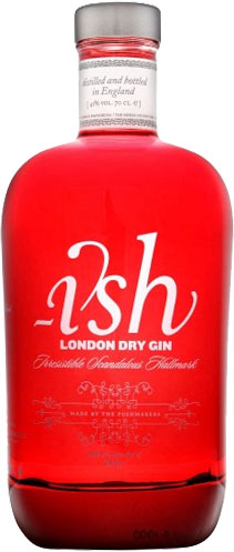 Ish - London Dry Gin 70cl Bottle