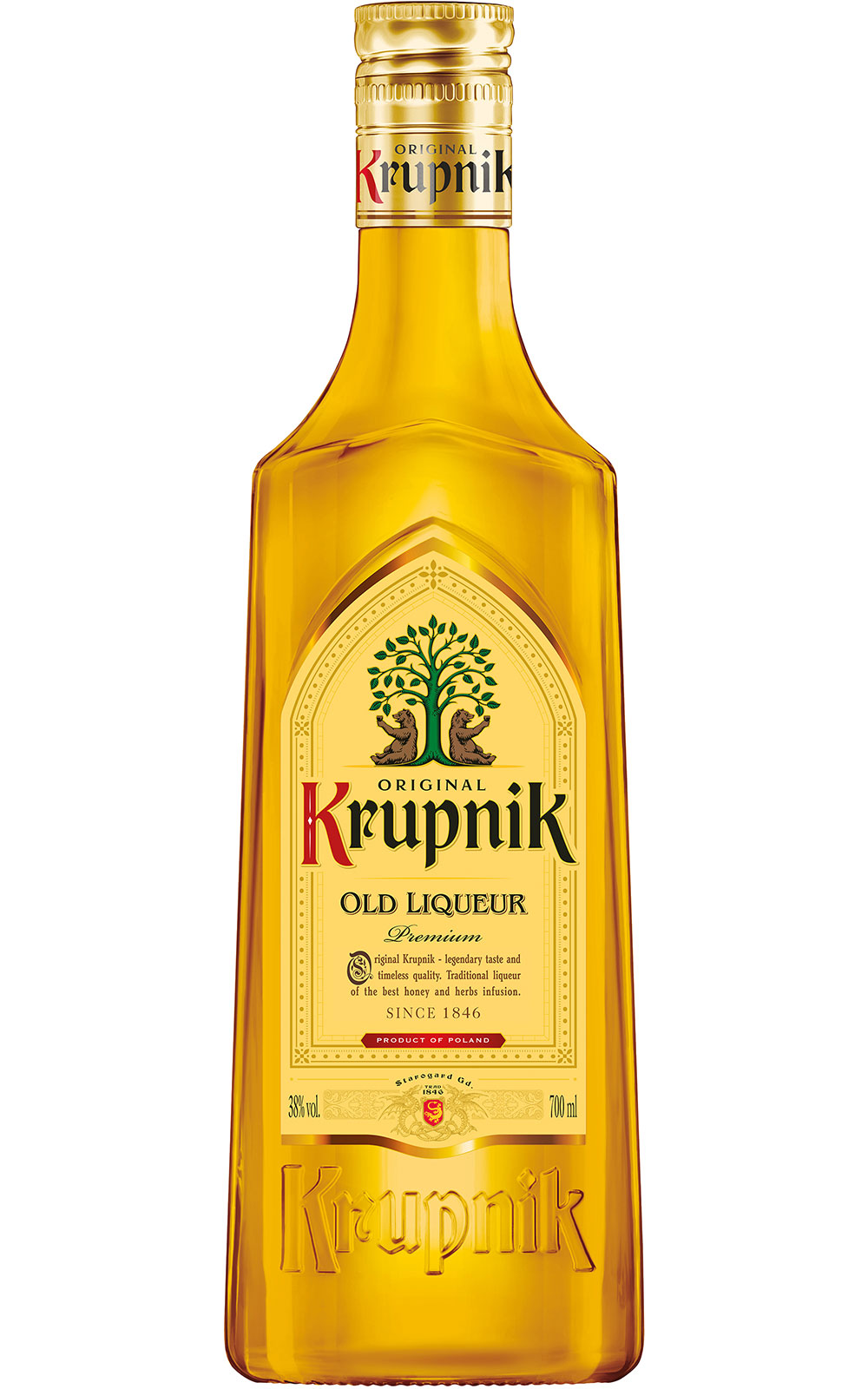 Krupnik - Old Honey Liqueur 70cl Bottle