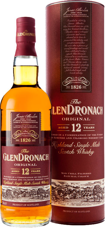 Glendronach - 12 Year Old Original 70cl Bottle