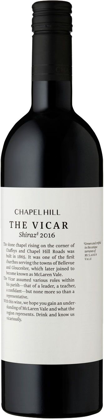 Chapel Hill - The Vicar Shiraz 2016 75cl Bottle
