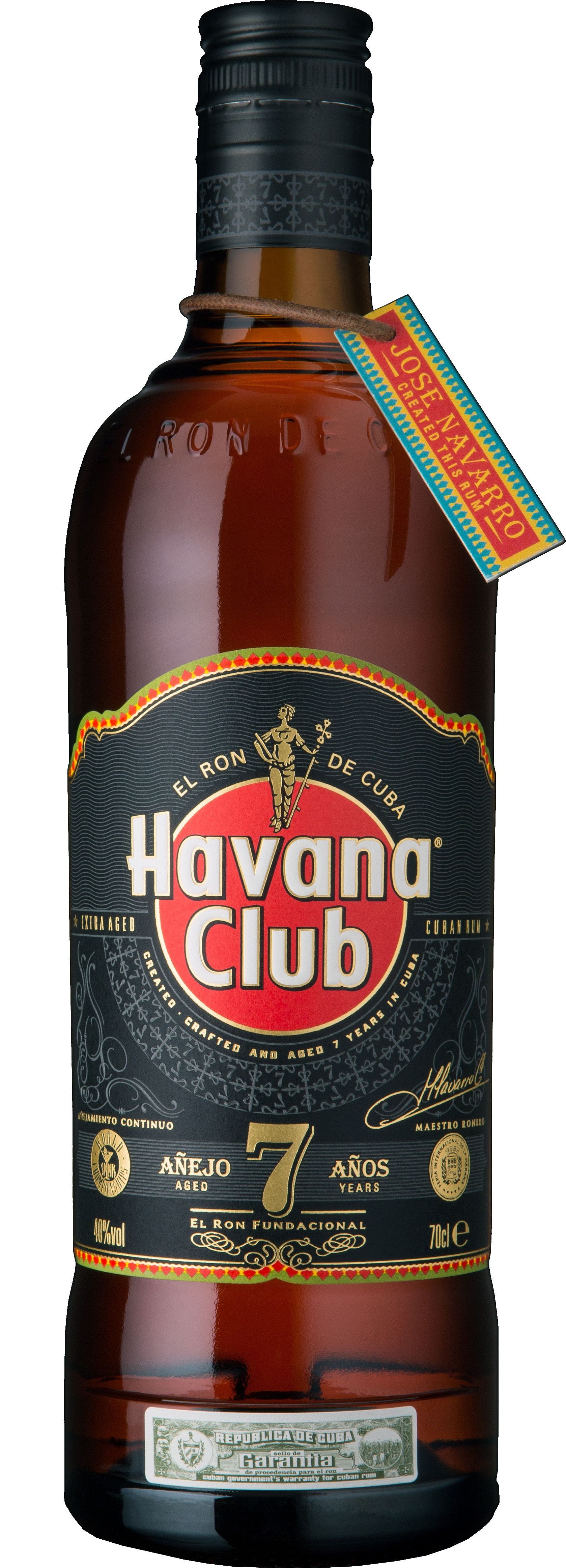 Havana Club - Anejo 7 Year Old 70cl Bottle