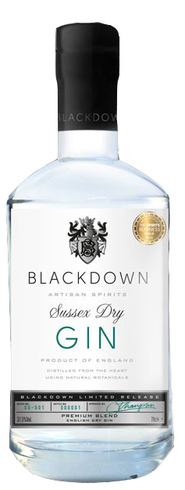 Blackdown - Sussex Dry Gin 70cl Bottle