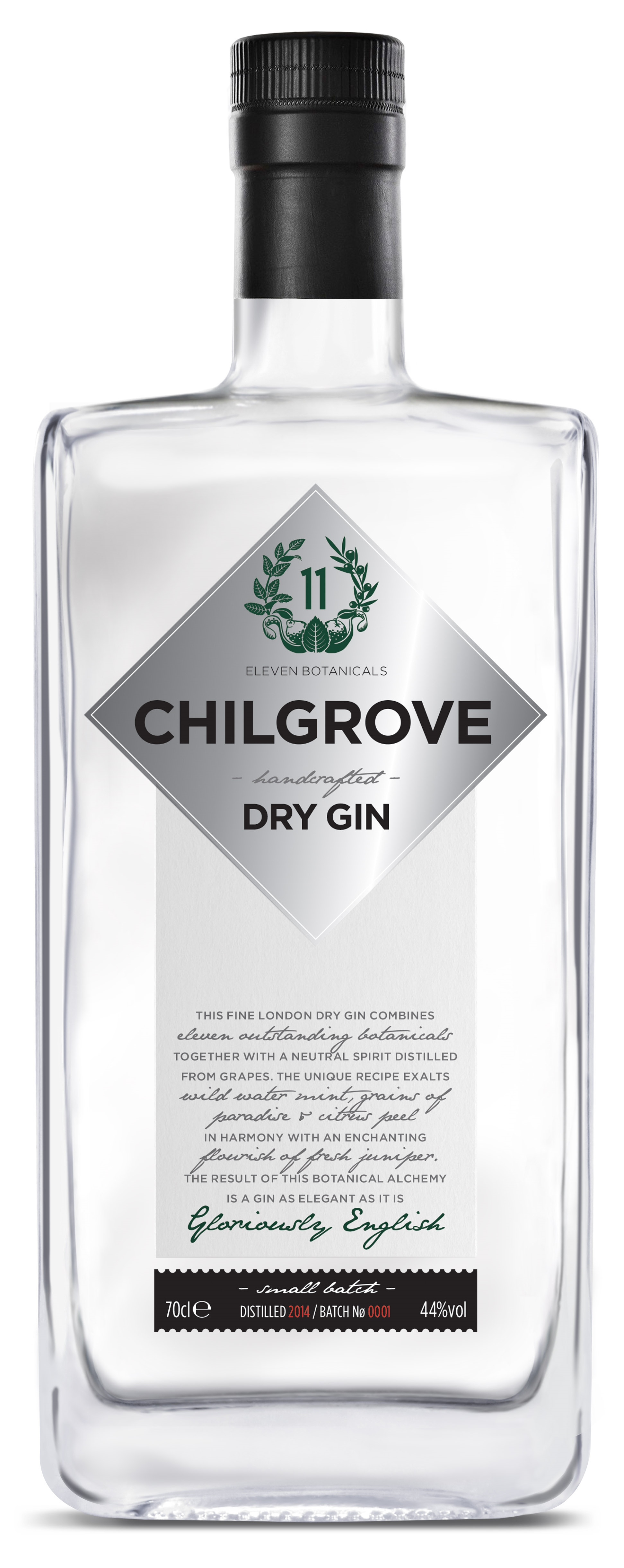 Chilgrove - Signature Gin 70cl Bottle