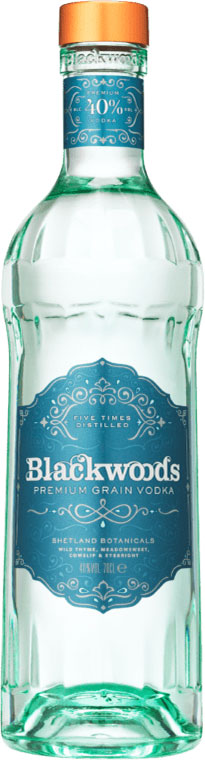 Blackwoods - Botanical Vodka 70cl Bottle