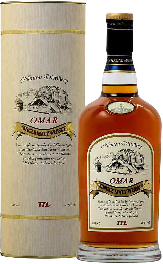 Nantou - Omar Sherry Cask Single Malt 70cl Bottle