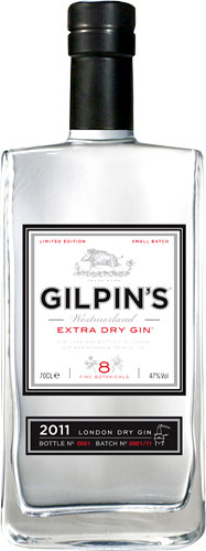 Gilpins - Westmorland Extra Dry Gin 70cl Bottle