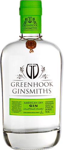 Greenhook Ginsmiths - American Dry Gin 70cl Bottle