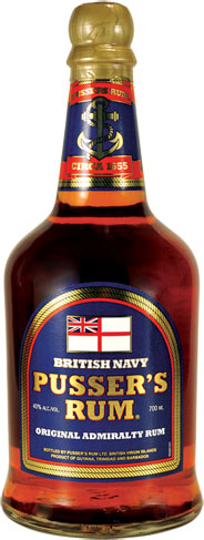 Pussers - Pussers Blue Label Original Admiralty Rum 70cl Bottle