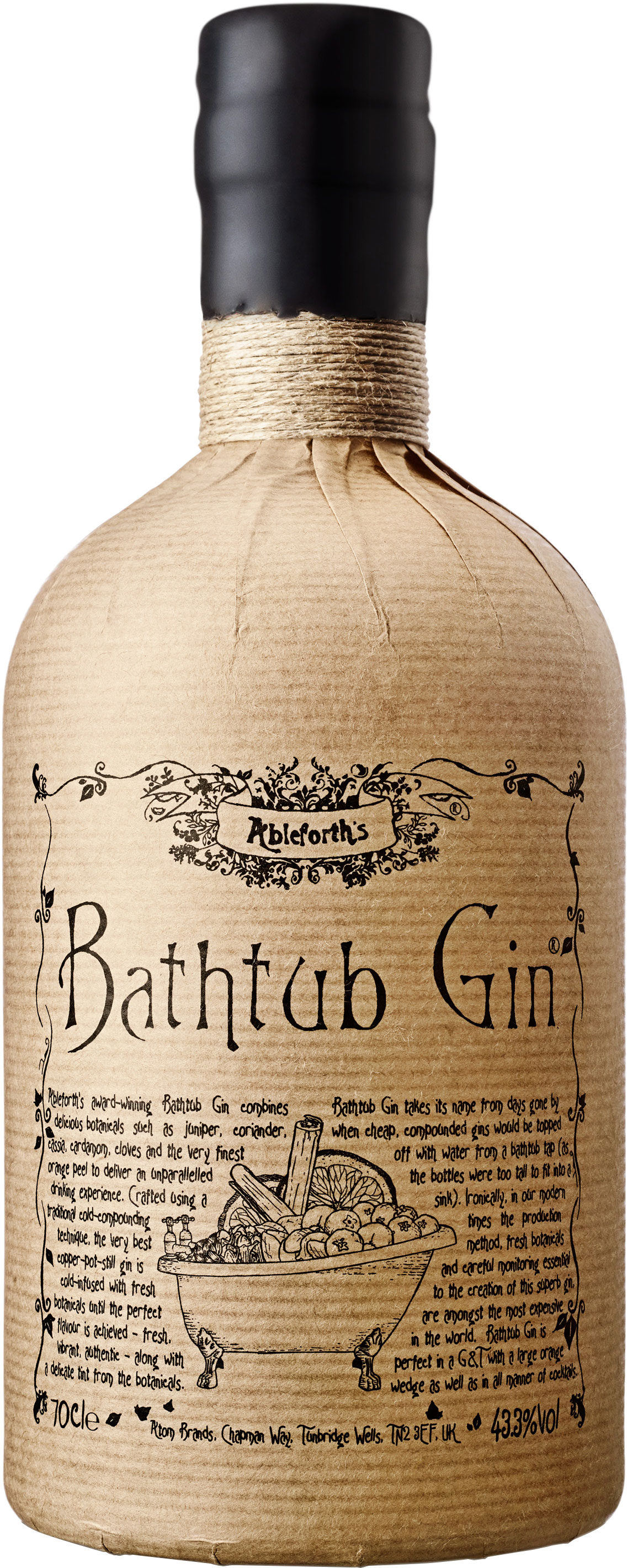 Bathtub Gin 70cl Bottle