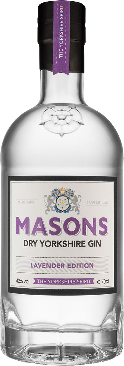 Masons - Lavender Edition Yorkshire Gin 70cl Bottle