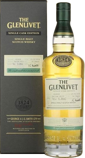 Glenlivet - Gallow Hill Cask 142608 70cl Bottle.