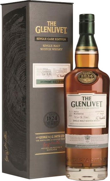 Glenlivet - Conglass Cask 41723 70cl Bottle.