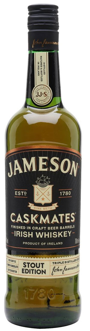 Jameson  Caskmates 70cl Bottle