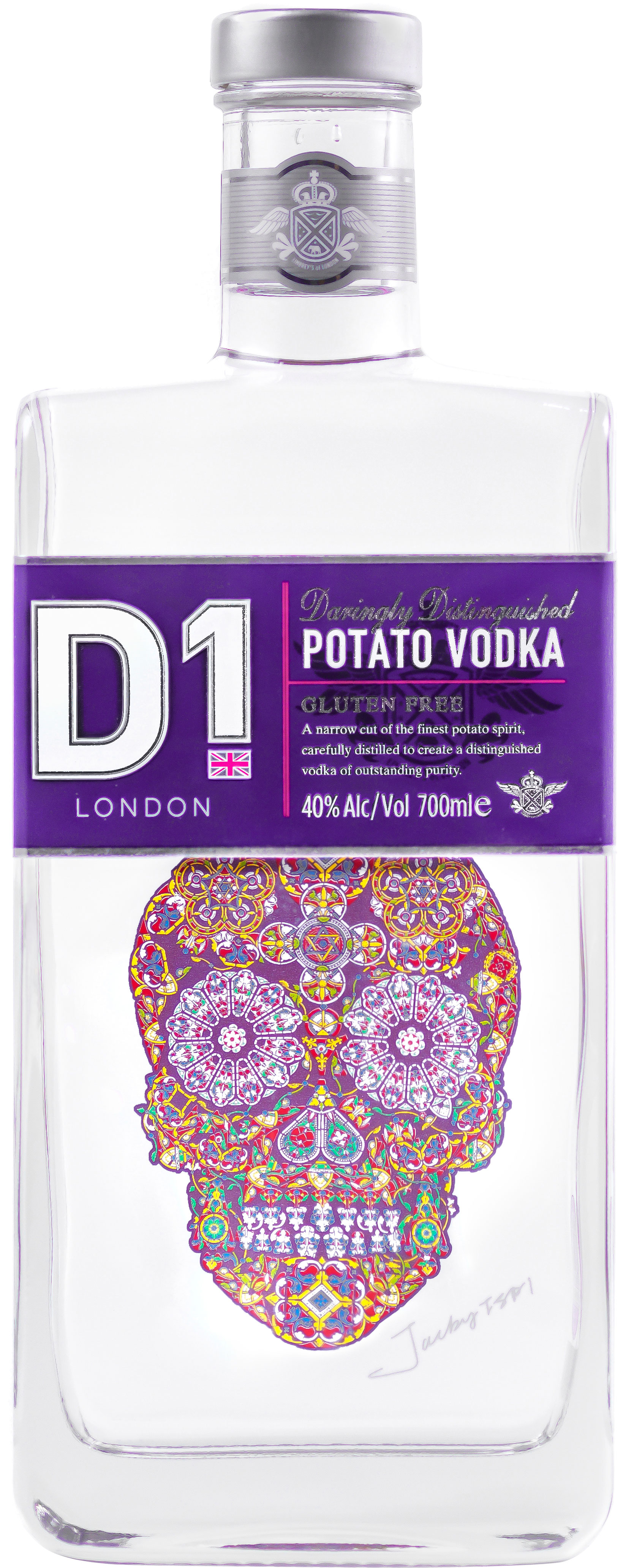 D1 - Potato Vodka 70cl Bottle