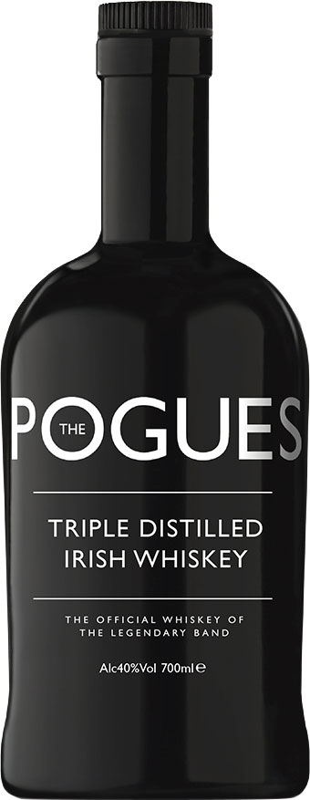 The Pogues - Irish Whiskey 70cl Bottle