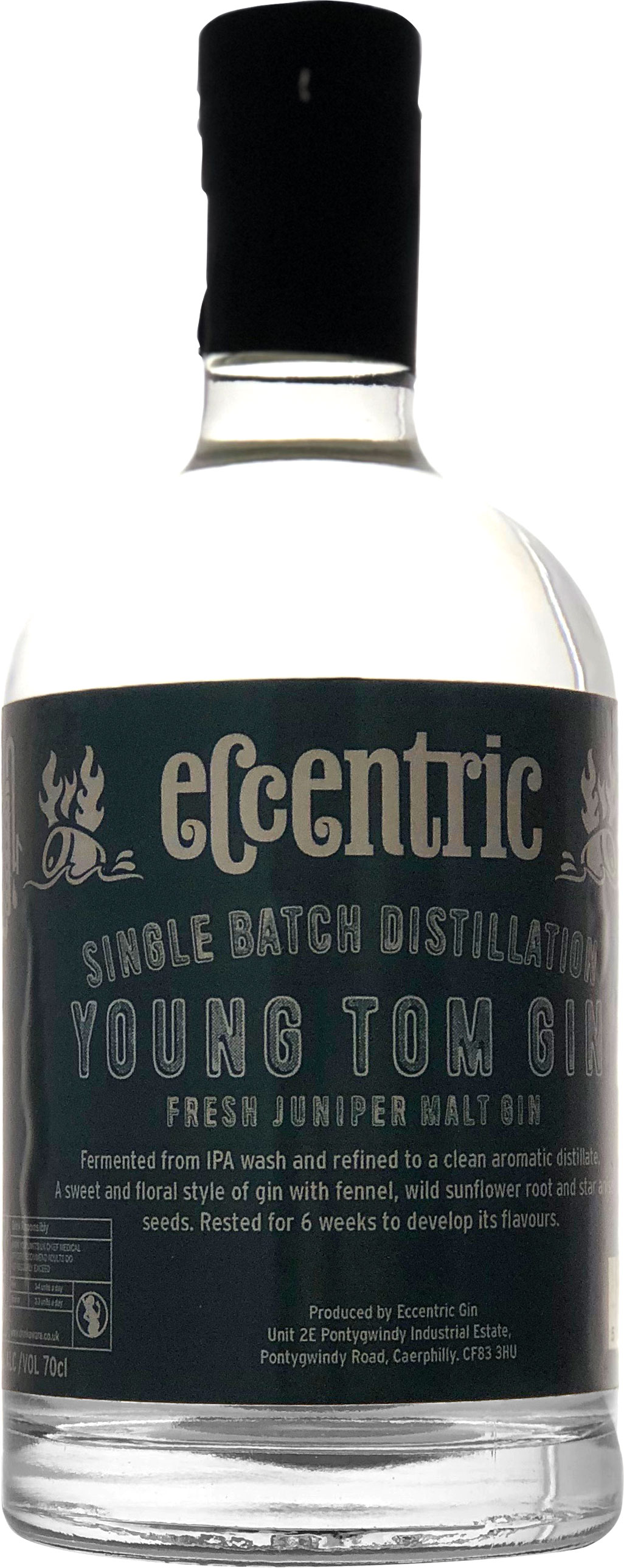 Eccentric - Young Tom Gin 70cl Bottle