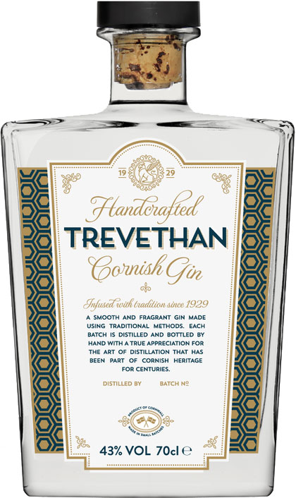 Trevethan - Cornish Gin 70cl Bottle