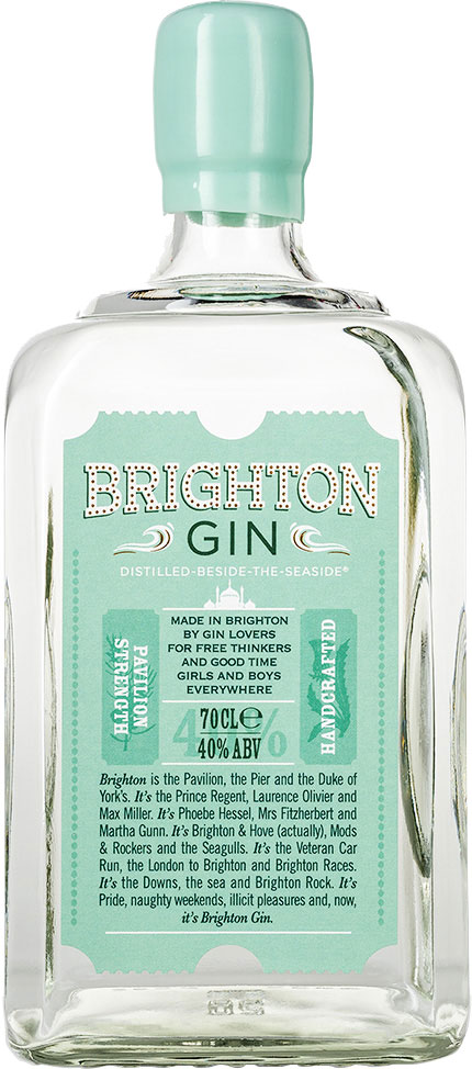 Brighton Gin 70cl Bottle