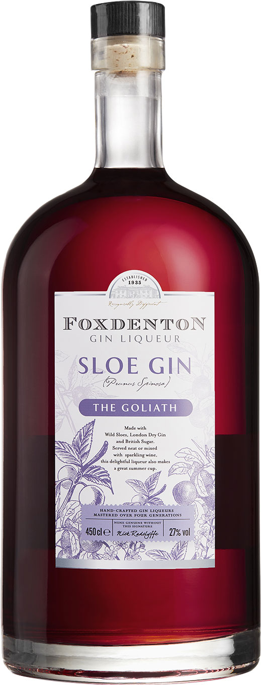 Foxdenton - Goliath of Sloe Gin 4.5 Litre Bottle