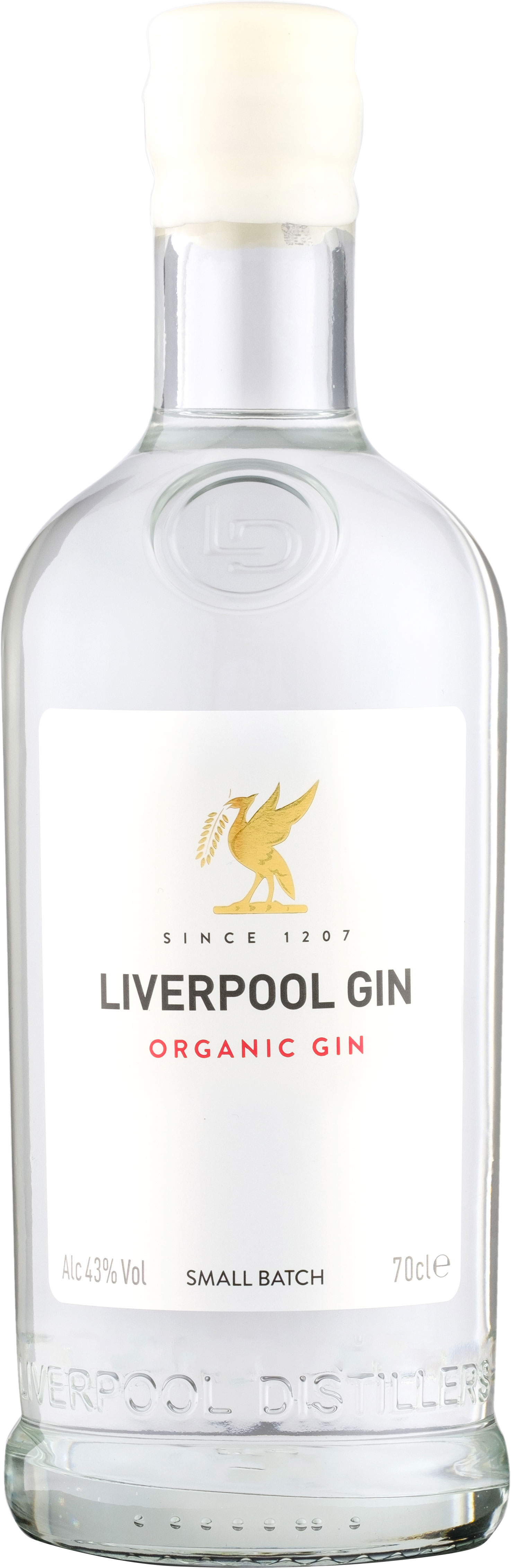 Liverpool Gin Distillery - Organic Gin 70cl Bottle
