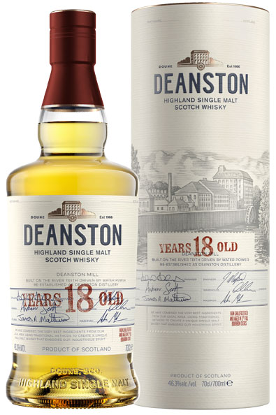 Deanston  18 Year Old 70cl Bottle