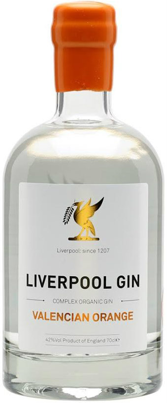 Liverpool Gin Distillery - Valencian Orange 70cl Bottle