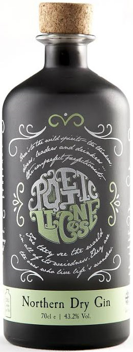 Poetic License - Northern Dry Gin 70cl Bottle