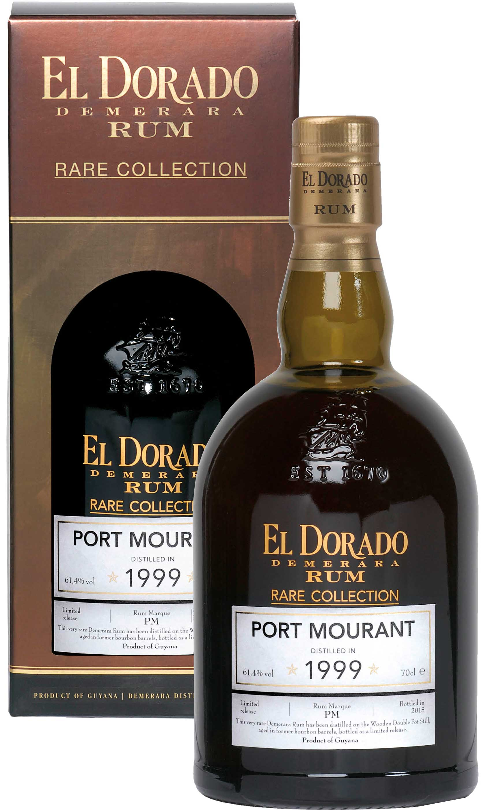 El Dorado - Port Mourant 1999 70cl Bottle