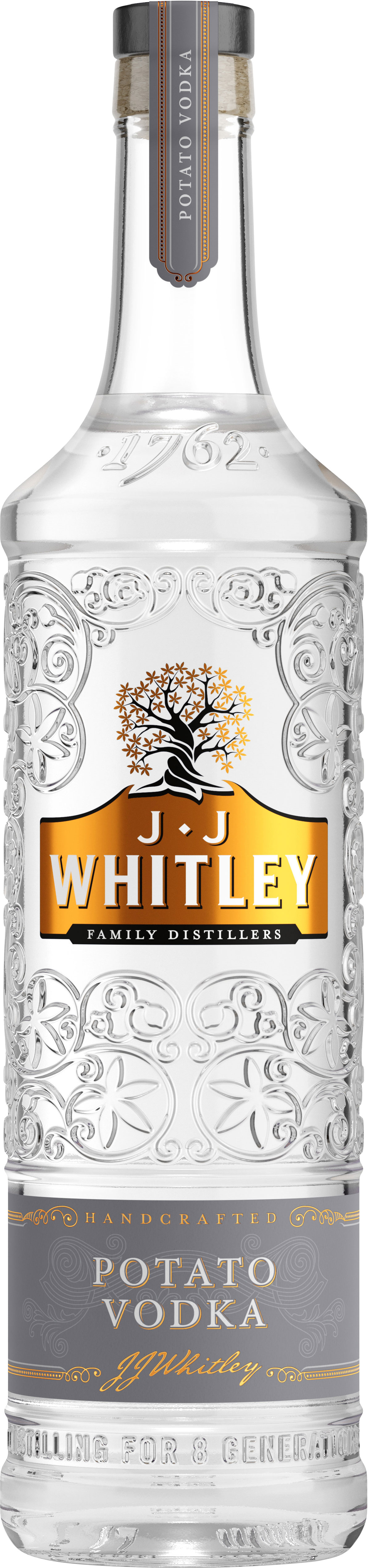 JJ Whitley  Potato Vodka 70cl Bottle