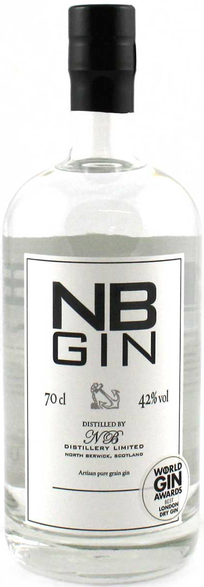 NB - London Dry Gin 70cl Bottle