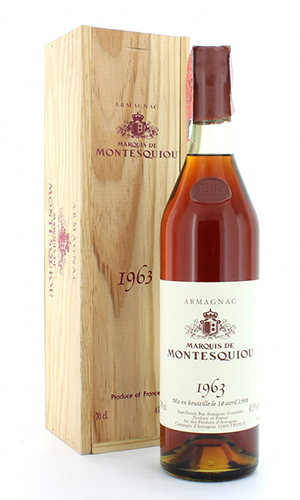 Marquis de Montesquiou  Armagnac 1960 70cl Bottle