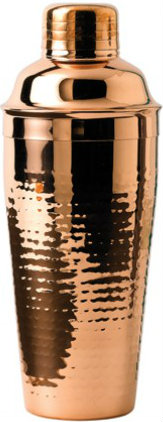 Image of Copper Plated Cocktail Shaker Accessories