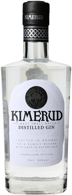 Kimerud - Small Batch Gin 70cl Bottle