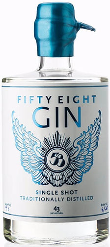 Fifty Eight - Gin 50cl Bottle