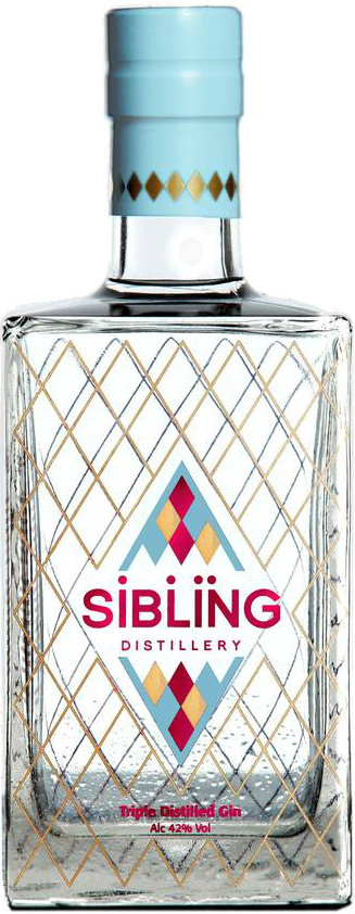 Siblings - Triple Distilled Gin 70cl Bottle