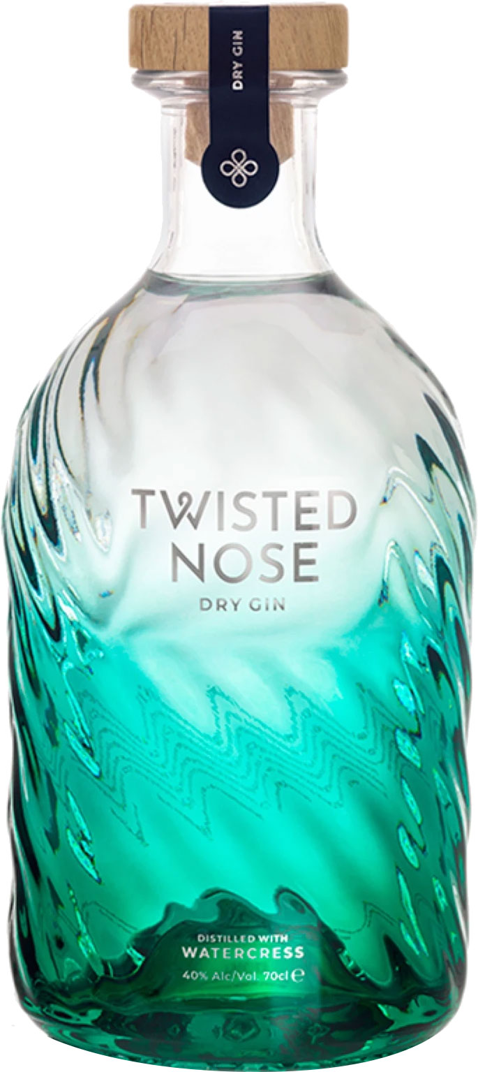 Twisted Nose - Watercress Dry Gin 70cl Bottle