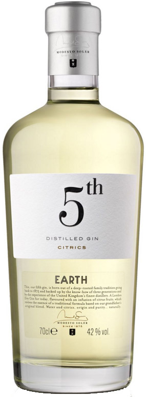 5th Gin - Earth 70cl Bottle