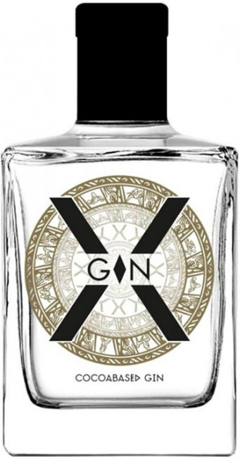 X-Gin - Cocoa Based Gin 50cl Bottle