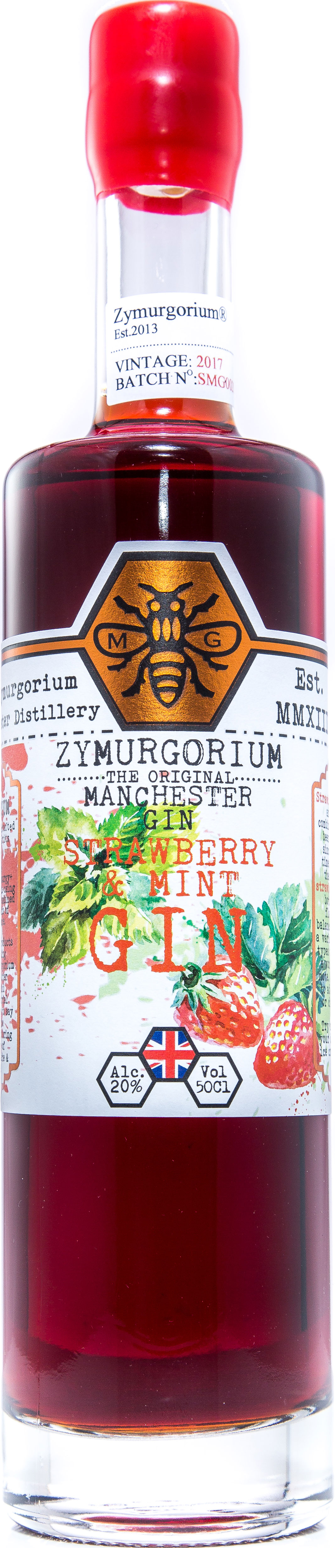 Zymurgorium - Strawberry & Mint Gin Liqueur 50cl Bottle