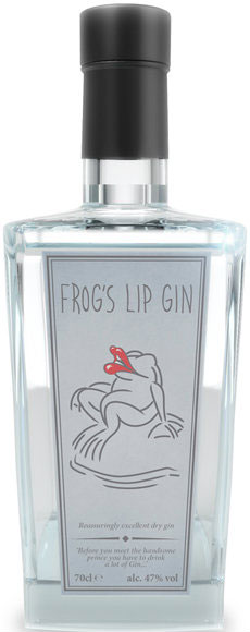 Frogs Lip - Gin 70cl Bottle